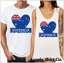 Load image into Gallery viewer, Heart Australia Print X 5 T-Shirt Printing Australia