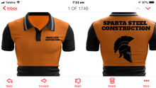 Load image into Gallery viewer, SYZMIK  ZH315 - Mens Hi Vis Flux S/S Polo - Sparta Steel Constructions