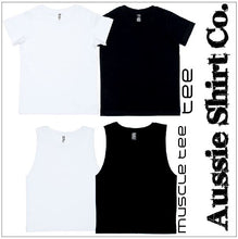 Load image into Gallery viewer, T-Shirt, Cut Sleeve or Tank - Newcastle ( insert your Town) - ASC T-Shirts - aussie-shirt-co