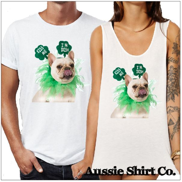 St Patricks Day T-Shirts - Kiss Me I'm Irish - aussie-shirt-co