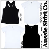 Its Not A Party until a  Newcastle (insert your town) Girl walks in - Cut Sleeve T-Shirt or Tank - aussie-shirt-co