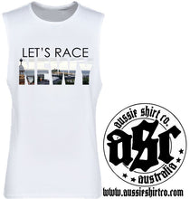 Load image into Gallery viewer, T-Shirt, Cut Sleeve or Tank Newcastle - Lets Race Newy - ASC T-Shirts - aussie-shirt-co