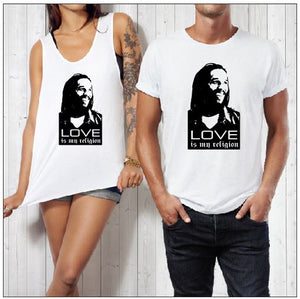 LOVE RELIGION PRINT - aussie-shirt-co