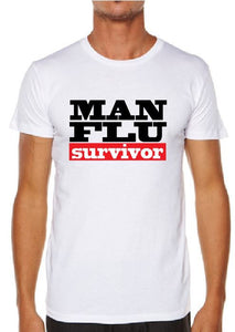 MAN FLU MENS T-SHIRT - aussie-shirt-co