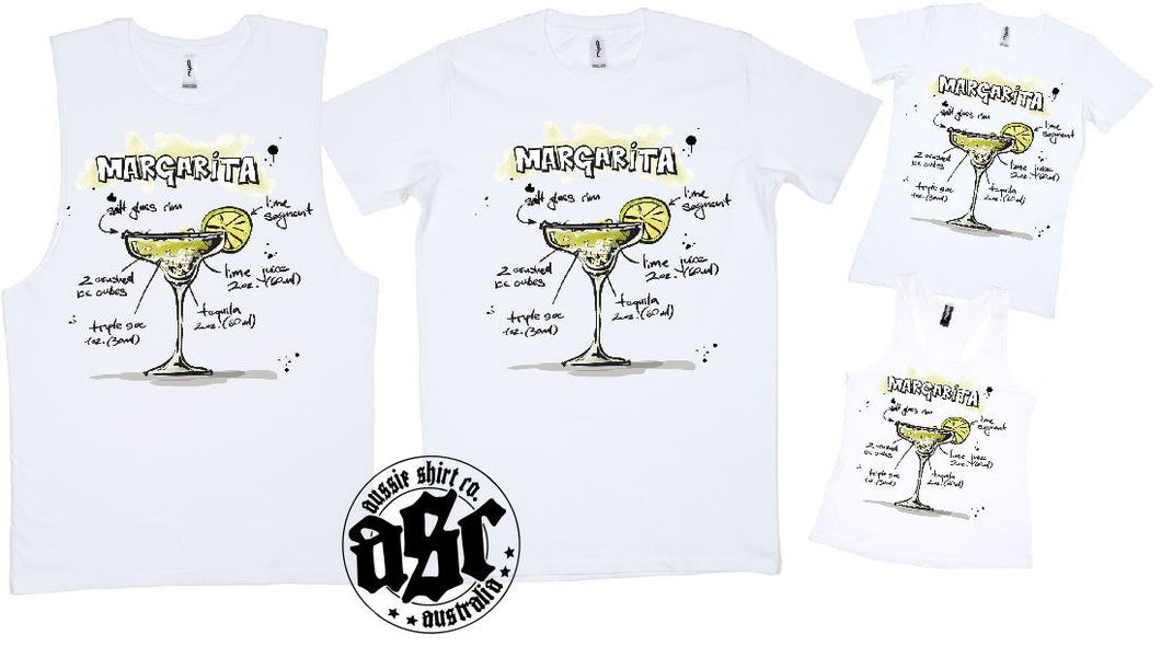 MARGARITA COCKTAIL PRINT - aussie-shirt-co