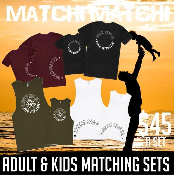 MATCHI MATCHI ADULT KID SET