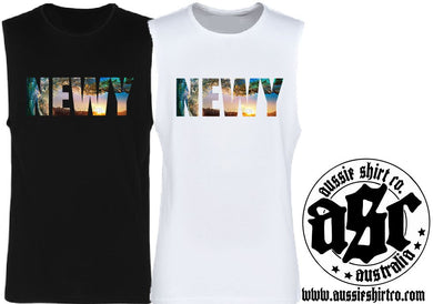 T-Shirt or Cut Sleeve - NEWY (or Your Town - ASC T-Shirts - aussie-shirt-co
