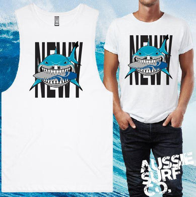 Newy Shark Tee or Muscle