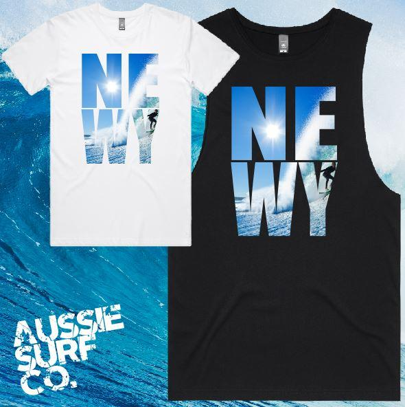 NEWY SURF Tee or Muscle