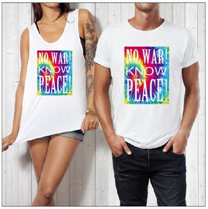 NO WAR KNOW PEACE PRINT - aussie-shirt-co