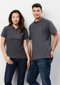 polos byron short sleeve cotton polyester business school education retail uniforms health aged care modern fit