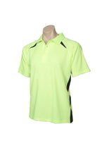 Load image into Gallery viewer, MENS SPLICE POLO   P7700