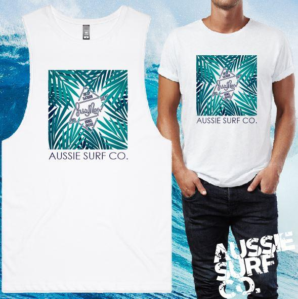 ASC Palm Summer Tee or Muscle