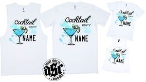 PERSONALISED COCKTAIL PARTY PRINT - aussie-shirt-co