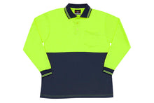 Load image into Gallery viewer, RAMO - Hi Vis Long Sleeve Polo - PS101L - LHC Logo Print - aussie-shirt-co