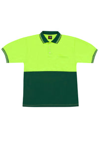 RAMO - Hi Vis Polo - PS101S- LHC Logo & Back Print - aussie-shirt-co