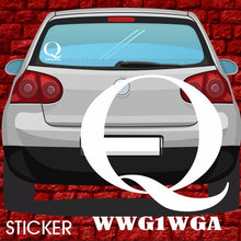 Load image into Gallery viewer, Q Anon WWG1WGA QAnon Sticker - Punisher Trump