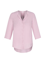 Load image into Gallery viewer, shirts blouses lily 3/4 sleeve polyester business school education health aged care easy fit