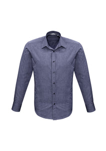 trend business cotton shirts blends polyester tailored fit male long sleeve
