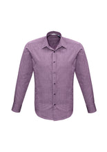 Load image into Gallery viewer, trend business cotton shirts blends polyester tailored fit male long sleeve