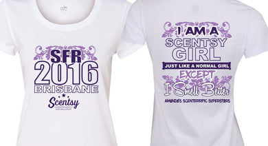 SCENTSY TEES - SFR 2016 - aussie-shirt-co