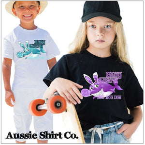 Happy Easter Baby Shark Doo Doo Doo Doo Doo - aussie-shirt-co