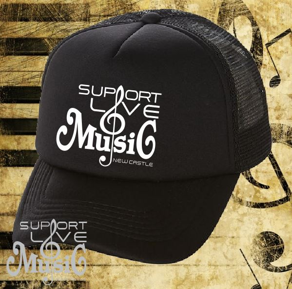 Support Live Music Trucker Cap