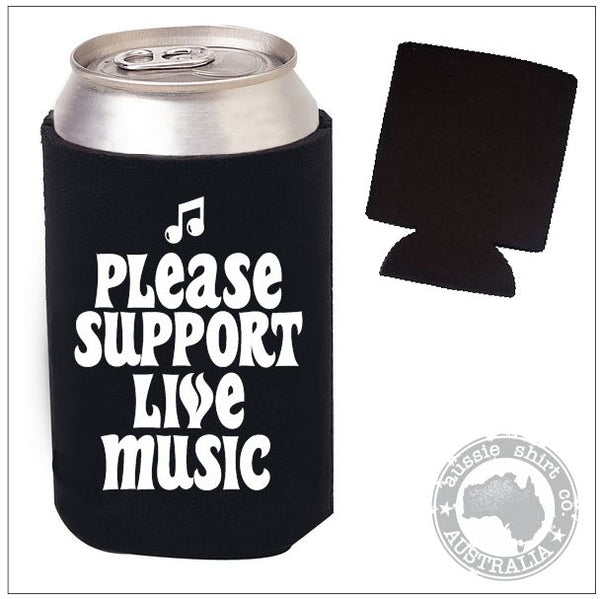 Support Live Music Pocket Cooler