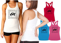 Ladies Tback Singlet - Aus Fit Square - ASC T-Shirts - aussie-shirt-co
