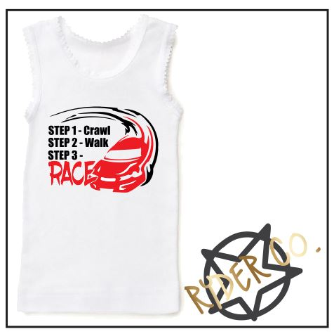 Singlet - Step Drift - aussie-shirt-co