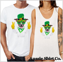 Load image into Gallery viewer, St Patricks Day T-Shirts - Peace Dog - aussie-shirt-co