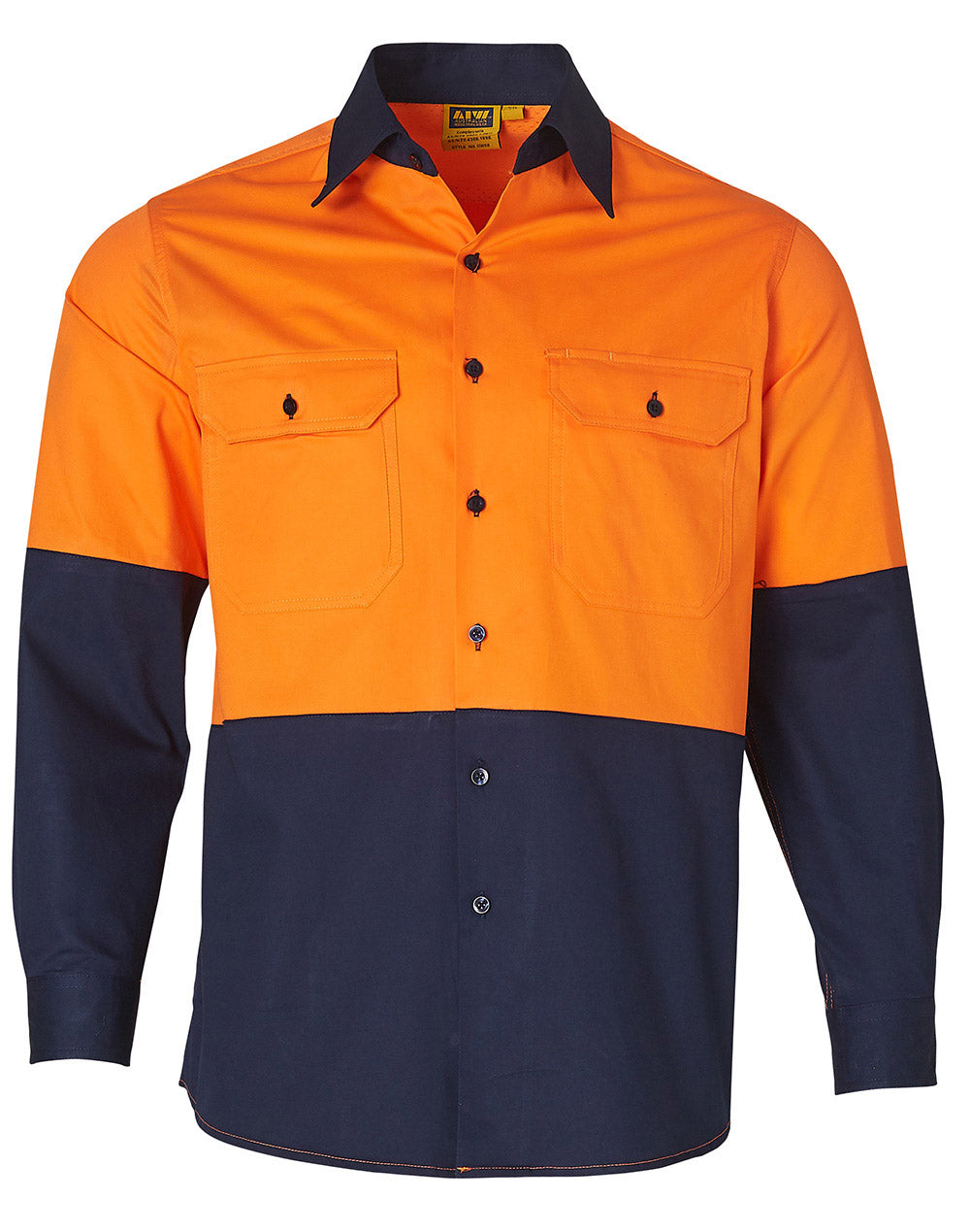 SW58 LONG SLEEVE SAFETY SHIRT