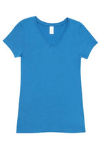 Load image into Gallery viewer, RAMO Ladies Marl V-Neck T-Shirt - T903LD T-Shirt Printing Australia
