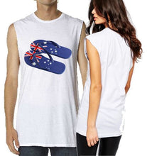 Load image into Gallery viewer, T-Shirt Tank or Cut Sleeve - Aussie Thongs - ASC T-Shirts - aussie-shirt-co