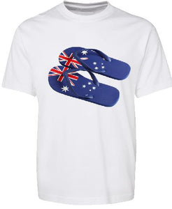 T-Shirt Tank or Cut Sleeve - Aussie Thongs - ASC T-Shirts - aussie-shirt-co