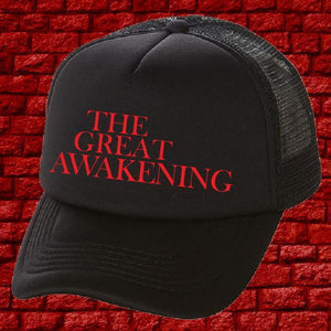 Q WWG1WGA  Cap - The Great Awakening