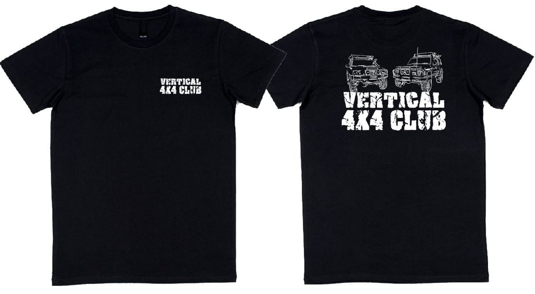 Vertical 4 X 4 Club - aussie-shirt-co