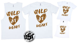 WILD HEART PRINT - aussie-shirt-co