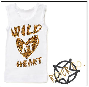 Singlet - Wild Heart - aussie-shirt-co