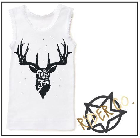 Singlet - Stag - aussie-shirt-co