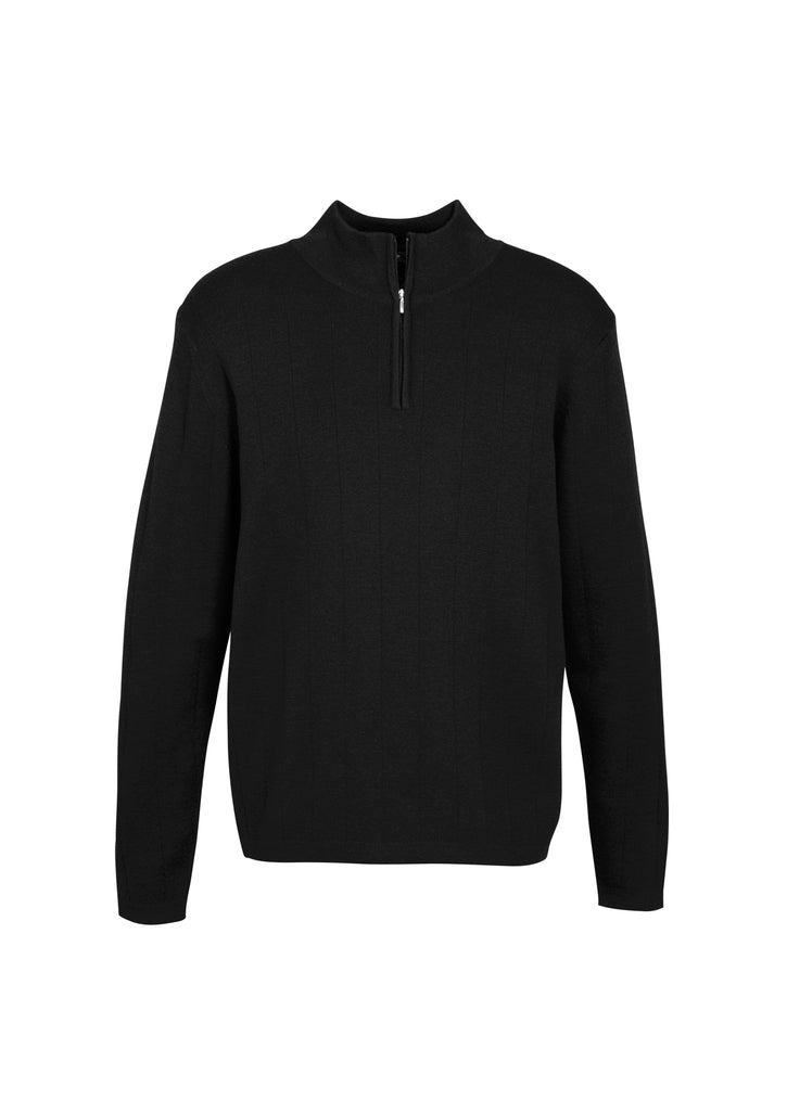 health aged care wool blend pullovers knitwear business wool acrylic modern fit male long sleeve