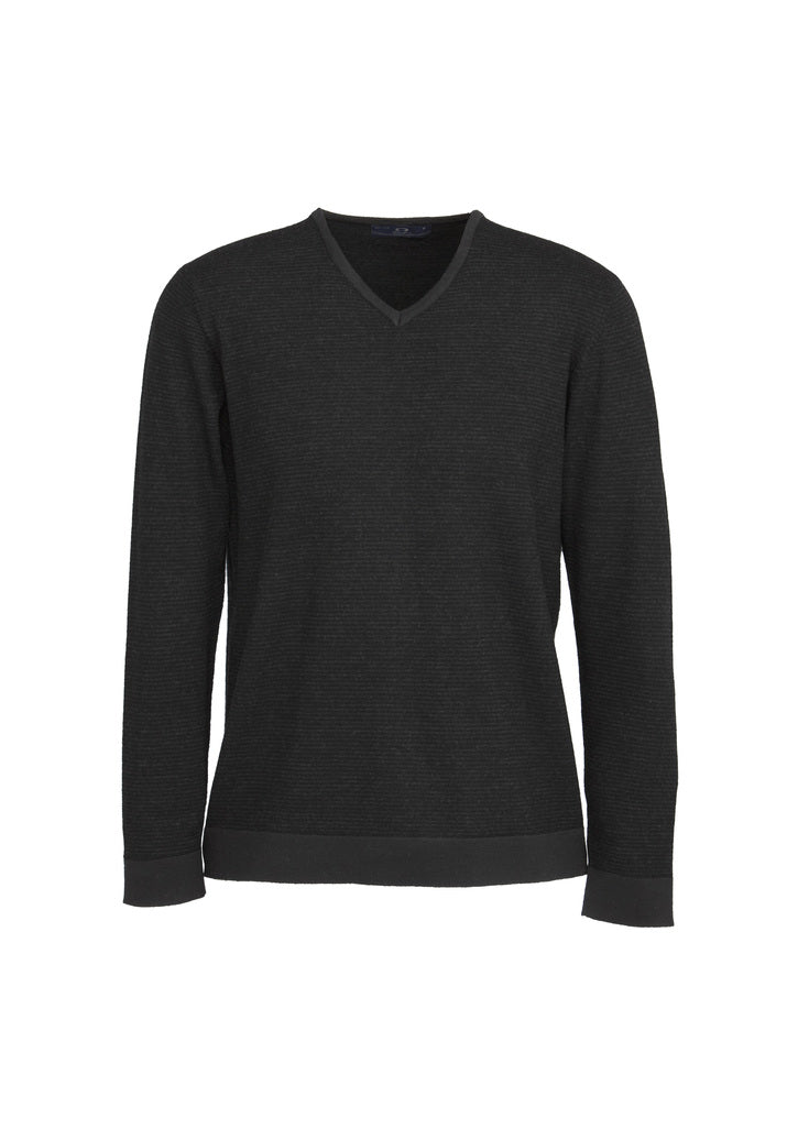 health aged care pullovers knitwear business wool modern fit male long sleeve