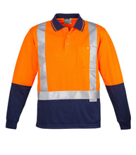 Load image into Gallery viewer, SYZMIK ZH234 - Mens Hi Vis Spliced Polo - Long Sleeve Shoulder Taped - Customize It