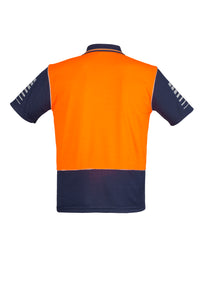 SYZMIK  ZH236 - Mens Hi Vis Zone Polo - Customize It