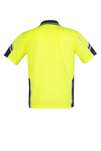 Load image into Gallery viewer, SYZMIK ZH237 - Mens Hi Vis Squad S/S Polo Customize It