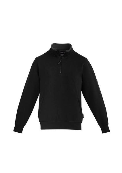 SYZMIK  ZT366 - Mens 1/4 Zip Brushed Fleece T-Shirt Printing Australia