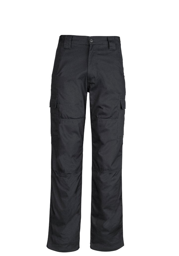 SYZMIK ZW001 - Mens Midweight Drill Cargo Pant (Regular) The Aussie Shirt Company