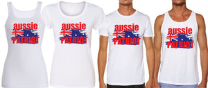 T-Shirt Tank or Cut Sleeve - Aussie Patriot - ASC T-Shirts - aussie-shirt-co