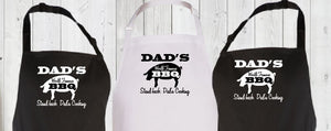 STAND BACK DAD'S COOKING APRON - aussie-shirt-co