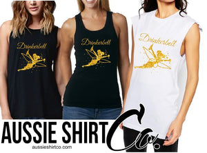 T-Shirt Tank or Cut Sleeve - Drinkerbell  - ASC T-Shirts - aussie-shirt-co